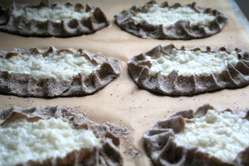karelian pies ready to bake