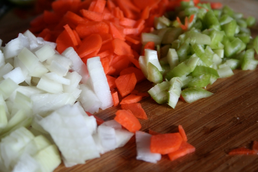 mirepoix as per usual