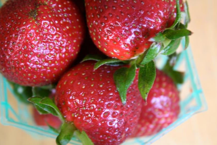 strawberry tart strawberries
