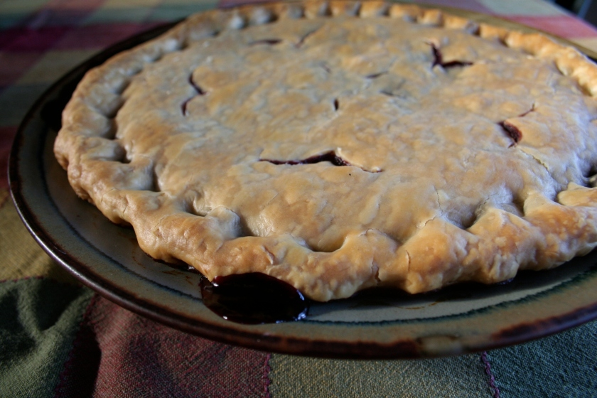 anyberry pie baked