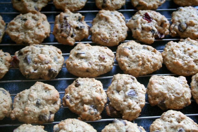 cowboy cookies done