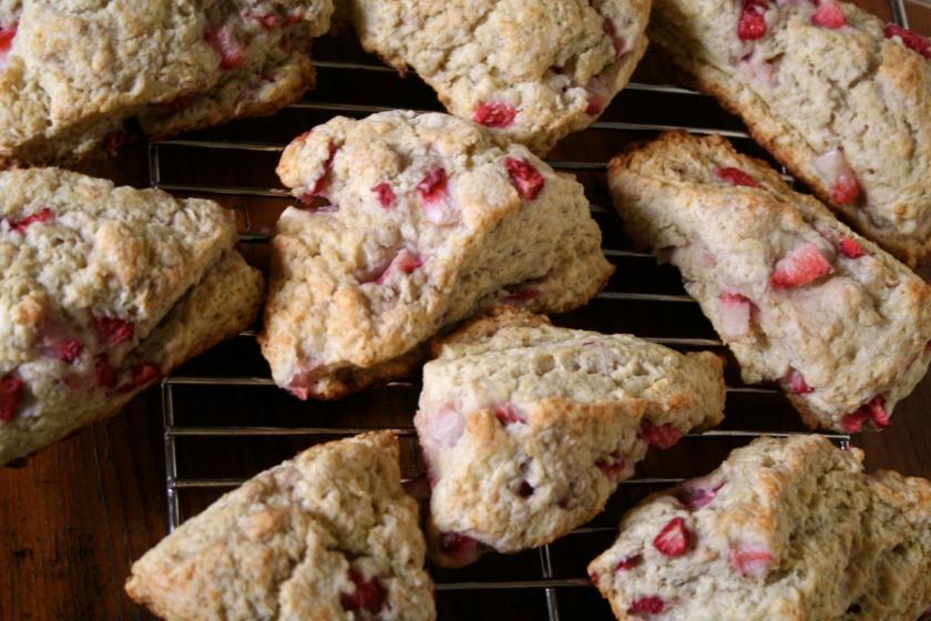 strawberry scones 5