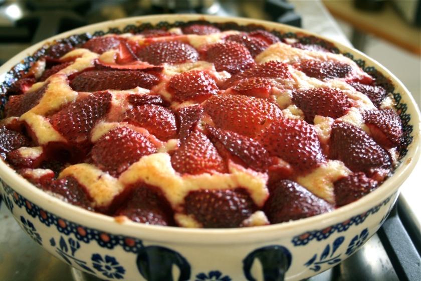 strawberry cake 5