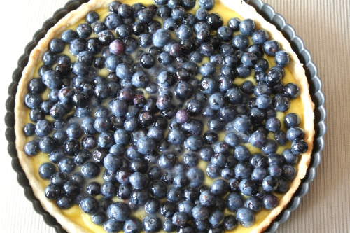lemon curd blueberry tart 5