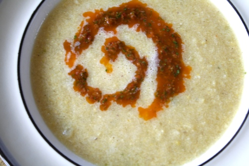 creamy corn soup 4