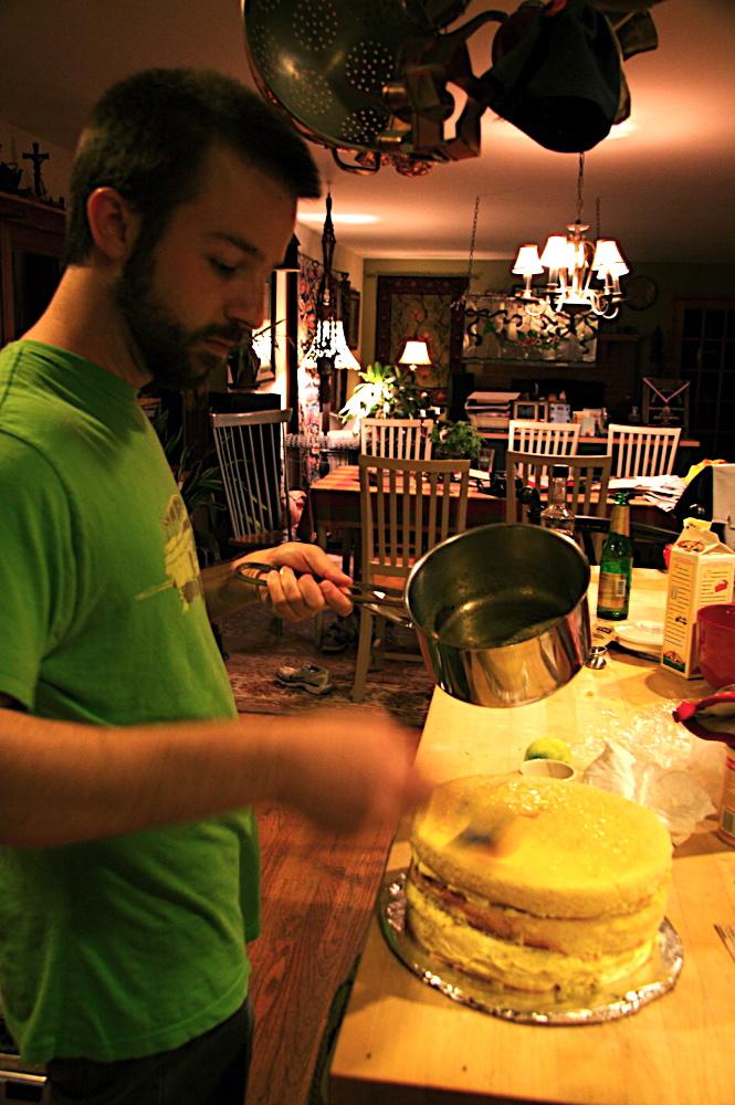 mango mousse cake 8