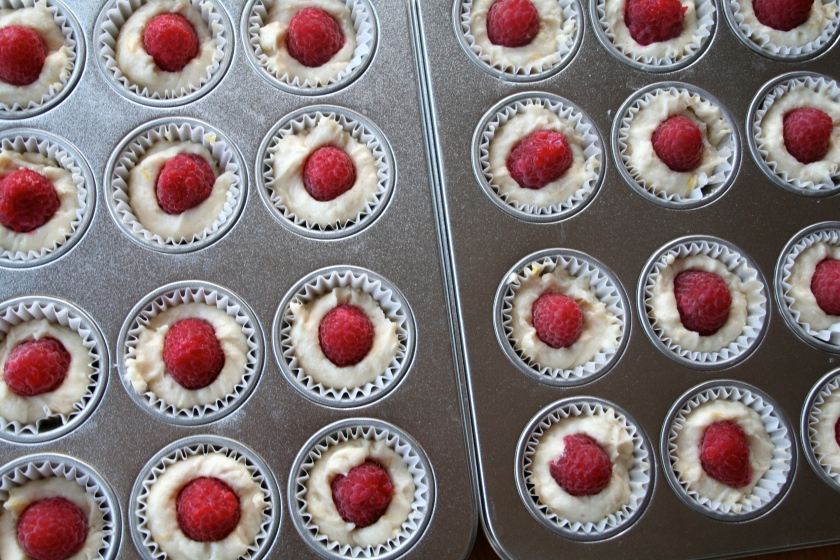 lemon raspberry muffins 3