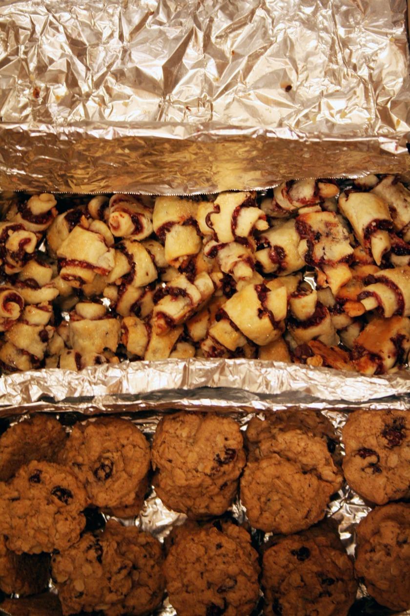 banana walnut chocolate chunk cookies 2