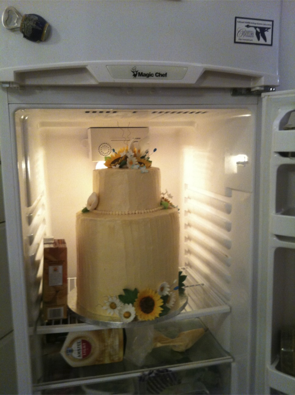 wedding cake storage so you want to assemble a wedding cake in your basement 25736